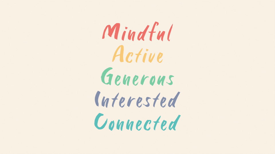 5 steps for mental wellbeing